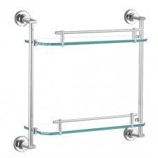 TG1811-2 Полка двойная стеклянная