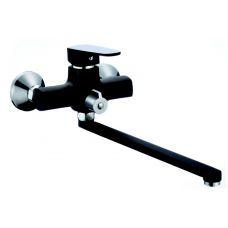 R0263F-1 Смеситель для ванны длинный излив черный