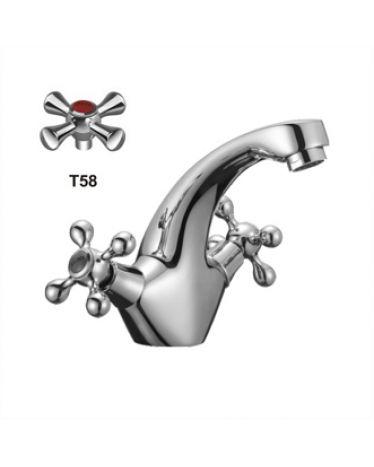 T5861 Смеситель для умывальника на шпильке