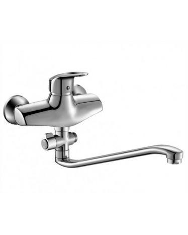 Смеситель для ванны с длинным изливом (35см) T4523 (картридж ⌀ 40мм)